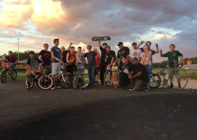 Pump track party