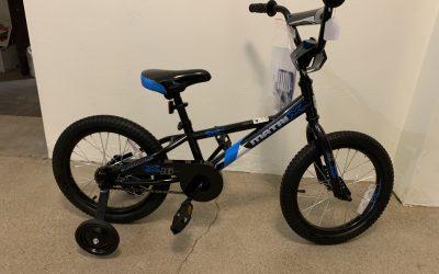 "Matrix Boy's Bike 16"" – training wheel option"