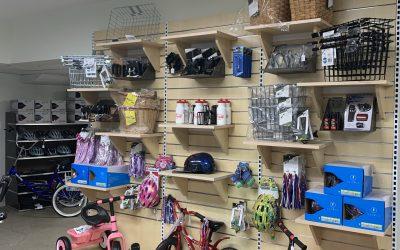 Shop taking shape for Spring!