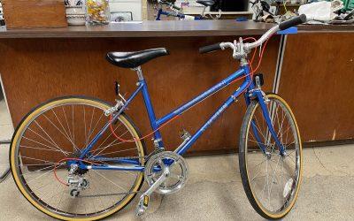 Sweet Blue Schwinn Sprint – Sold May 2021